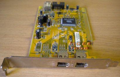 4-Port Adapter Card 4x FireWire 3x 1394a 1x 1394a1 Versch. Hersteller* sk26