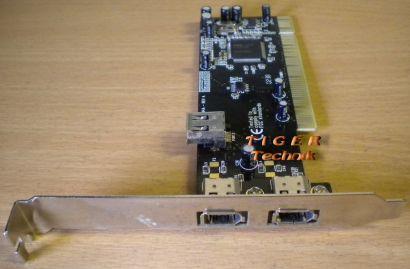 3-Port Adapter Card 3x FireWire IEEE 1394a  Versch Hersteller Marken* sk25