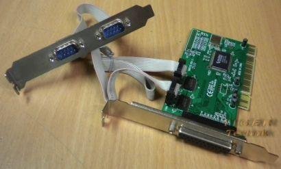 NM9735 Rev.C und 2x RS-232 PCI Serial Karte* pz1031