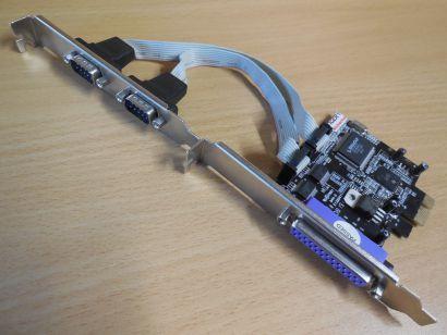 PI49835-9X2A PCI Express Karte 1xLPT 2x COM* sk33