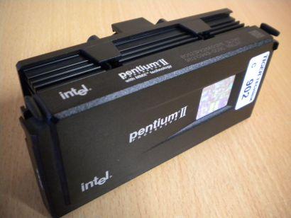 Intel Pentium II 266 MMX SL2W7 CPU 80523PX266512PE Slot 1 Rarität* c902
