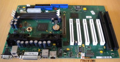 FSC D1107-A11 GS 2 Mainboard +Blende 2x ISA Slot 1 Intel 440BX AGP PCI LAN* m580