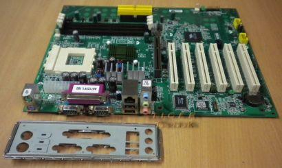 MSI MS-6712 Ver 2.0 FSC-OEM Mainboard + Blende Sockel A 462 FSB333 AGP LAN* m588