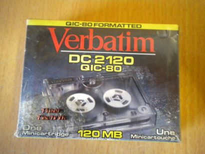 Verbatim DC 2120 QIC-80 Mini Data Cartridge* PZ132