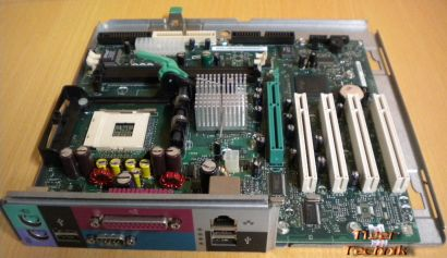 Dell Dimension 4550 Mainboard 0M0321 Rev.A00 M0321 Sockel 478 auf Schiene* m595