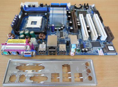 ASRock P4i65G Rev 1.01 Mainboard NEU OVP Sockel 478 AGP DDR VGA Sound LAN* m600