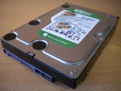 WD Caviar Green WD6400AACS-00G8B1 Festplatte HDD 3,5 SATA 640GB* f591