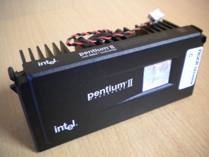 Intel Pentium II 300 MHz SL2HA CPU 80522PX300512EC Slot 1 Rarität* c917
