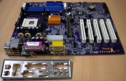 Elitegroup P4VXAD+ Rev: 1.0 Mainboard mit Blende * Sockel 478 FSB533 LAN * m15
