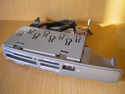 HP 5070-0841 Card Reader 9in1 4-Slot Kartenleser für Pavilion PCs silber* KL12