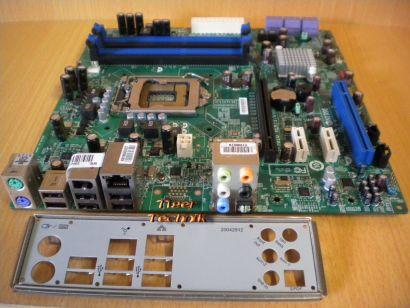 MSI MS-7616 Ver1.0 Org. Medion Mainboard +Blende Sockel 1156 PCIe SATA DDR3*m616