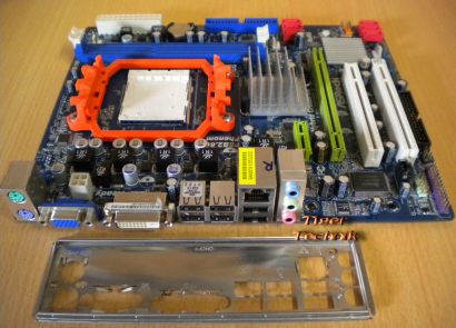 ASRock M3A785GM-LE 128M Rev1.01 Mainboard +Blende Sockel AM3 VGA LAN Audio* m621