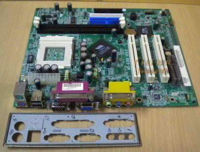 MSI MS-6368 Ver5 Mainboard +Blende Sockel 370 Tualatin VGA Audio PCI SD-RAM*m631