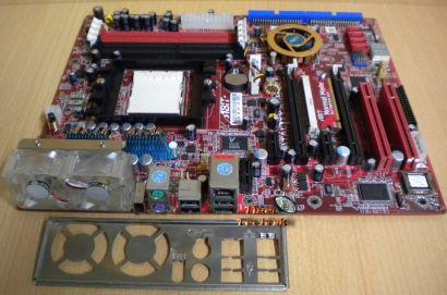 ABIT FATAL1TY AN8 SLI Mainboard +Blende Sockel 939 Dual PCIe SATA GBLAN* m637
