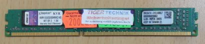 Kingston KVR1333D3S8N9K2 4G PC3-10600 4GB Kit 1333MHz CL9 99U5474-013.A00LF* r51