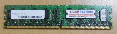 Aeneon AET760UD00-370A98X PC2-4200 CL4 1GB DDR2 533MHz 2Rx8 Arbeitsspeicher* r55