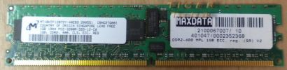 Micron MT8HTF12864AY-53EE1 PC2-4200U-444-12-ZZ 1GB DDR2 533MHz* r61