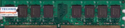 Buffalo Select D2U667C-1G BJ PC2-5300 1GB DDR2 667MHz Arbeitsspeicher RAM* r69