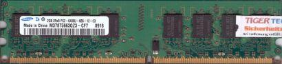 Samsung M378T5663QZ3-CF7 PC2-6400 2GB DDR2 800MHz Arbeitsspeicher RAM* r76