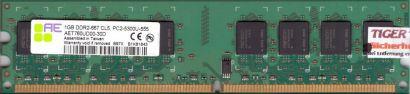 Aeneon AET760UD00-30D PC2-5300 CL5 1GB DDR2 667MHz Arbeitsspeicher RAM* r82