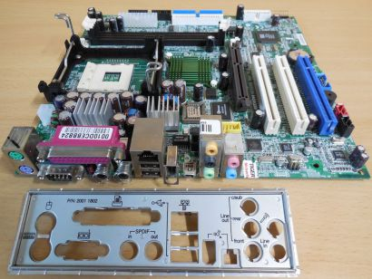Medion MD5000 Ver1.2 MSI MS-6701 FSB533 AGP8x 5.1 Audio Mainboard +Blende* m434