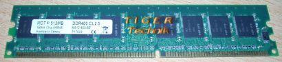 MDT M512-667-16A PC2-5300 512MB DDR2-667 667MHz Arbeitsspeicher* r85