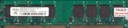 Aeneon AET760UD00-30DS92Z PC2-5300 1GB DDR2 667MHz Arbeitsspeicher RAM* r86