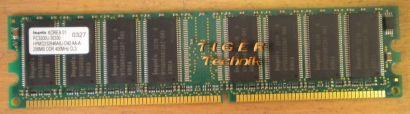 Hynix HYMD264646B8J-J AA-A PC2700U-25330 512MB DDR1 333MHz Arbeitsspeicher* r94