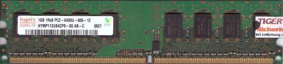 Hynix HYMP112U64CP8-S6 AB-C PC2-6400U-666-12 1GB DDR2 800MHz RAM* r96