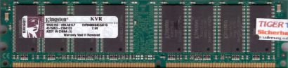 Kingston KVR400X64C3A 1G PC-3200 1GB DDR1 400MHz 99U5193-090 A01LF RAM* r97
