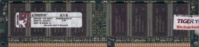 Kingston KVR266X64C2 1G PC2100 1GB DDR1 266MHz Arbeitsspeicher* 101