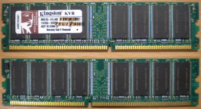 Kingston RMD1-400 1G PC3200 1GB DDR1 400MHz Arbeitsspeicher* r104