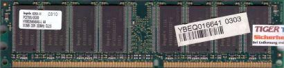 Hynix HYMD264646A8J-J AA PC-2700 512MB DDR1 333MHz Arbeitsspeicher RAM* r111