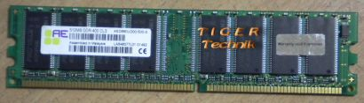 Aeneon AED760UD00-500-S PC3200 CL3 1GB DDR1 400MHz Arbeitsspeicher* r113