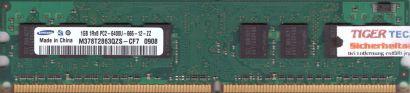 Samsung M378T2863QZS-CF7 PC2-6400U-666-12-ZZ 1GB DDR2 800MHz RAM* r115