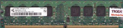 Qimonda HYS64T128020HU-37-A PC-4200U-444-11-B1 1GB DDR2 533MHz RAM* r120