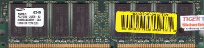 Samsung M368L6423DTM-CB3 PC2700U-25330-B2 CL2.5 512MB DDR1 333MHz RAM* r128