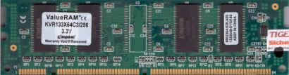 Kingston KVR133X64C3 256 PC133 256MB SDRAM 133MHz 9902364-028 A00 SD RAM* r131