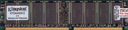Kingston KTD4400 512 PC2100 512MB DDR1 266MHz Arbeitsspeicher* r132