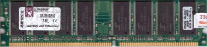 Kingston KFJ2813 512 PC2700 512MB DDR1 333MHz Arbeitsspeicher* r135
