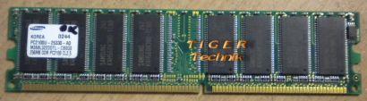 Samsung M368L6523DUS-CB3 PC2700U-25331-Z CL2 5 512MB DDR1 333MHz RAM* r138
