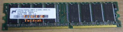 Micron MT8VDDT6464AG-335DB PC2700U CL2 5 512MB DDR1 333MHz Arbeitsspeicher* r140
