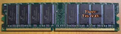 ProMOS V826664K24SATG-C0 PC2700U2533-0-B0 512MB DDR1 333MHz RAM* r142