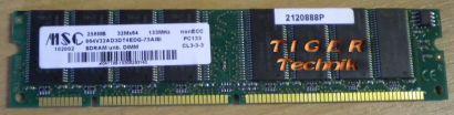 MSC MSC122003 PC2700 CL2 5-3-3 512MB DDR1 333MHz mit Infineon CHIP RAM* r143