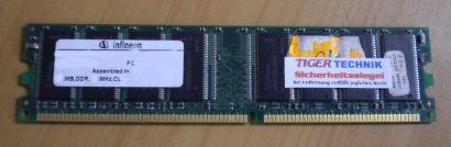 Infineon HYS64D64020GU-7-A PC2100U-20330-B1 CL2 512MB DDR1 266MHz RAM* r156