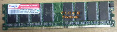 VData D1C02 PC2700 CL2 5 512MB DDR1 333MHz Arbeitsspeicher* r158