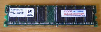 Swissbit SDU06464H1B22IW PC2700 512MB DDR1 333MHz Arbeitsspeicher* r162