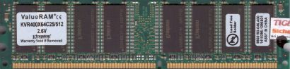 ONYX PC2100 512MB DDR1 266MHz Arbeitsspeicher* r169