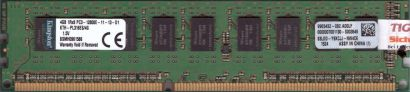 Kingston KTH-PL316ES 4G PC3-12800E 4GB DDR3 1600MHz ECC 9965432-082 A00LF* r170