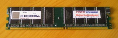 Transcend TD563MATS PC2100 CL2 5-3-3 512MB DDR1 266MHz Arbeitsspeicher* r175